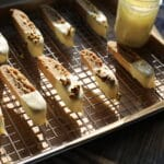 biscotti on a cooling tray
