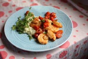 shrimp on a platter z