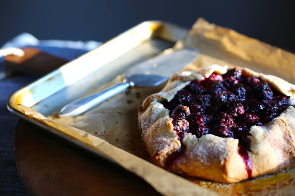 Fresh Blackberry Galette