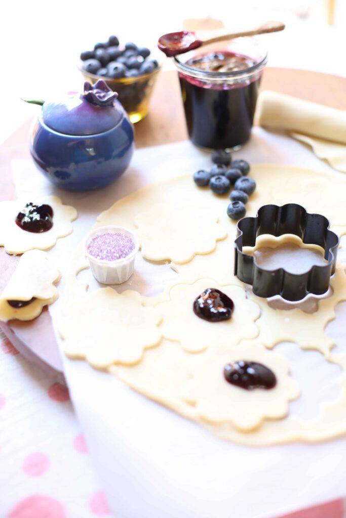 Easy Little Lemon Blueberry Pies