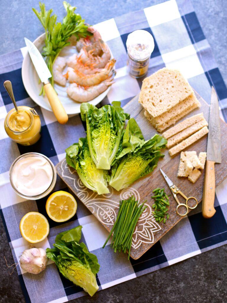 Shrimp Salad with Lemon Ranch Dressing