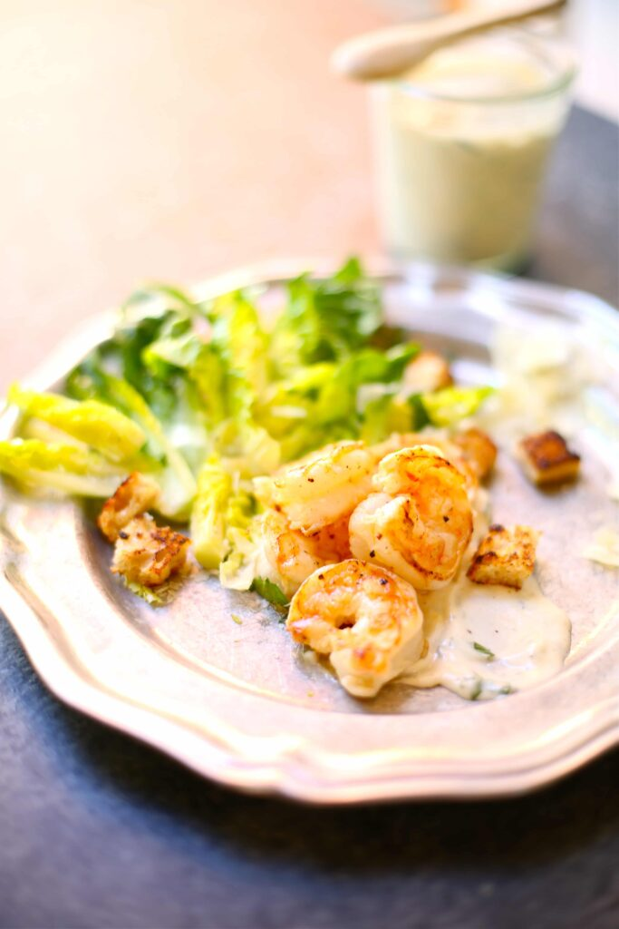 Shrimp Salad with Lemon Ranch Dressing