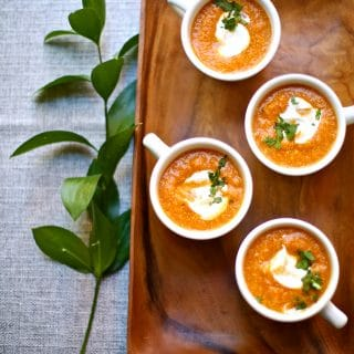 Creamy Pumpkin Soup by Studio Delicious