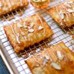 Cooked and cooled Apple Butter Hand Pies by Studio Delicious