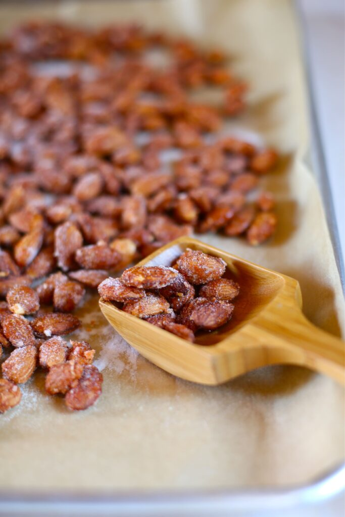 Sweet and Spicy Almonds by Studio Delicious.com
