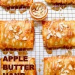 Apple Butter Hand Pies with text