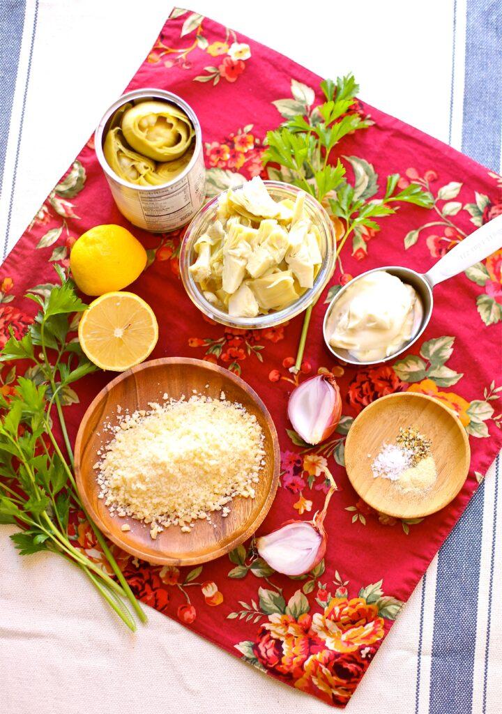 Lemony Hot Artichoke Dip