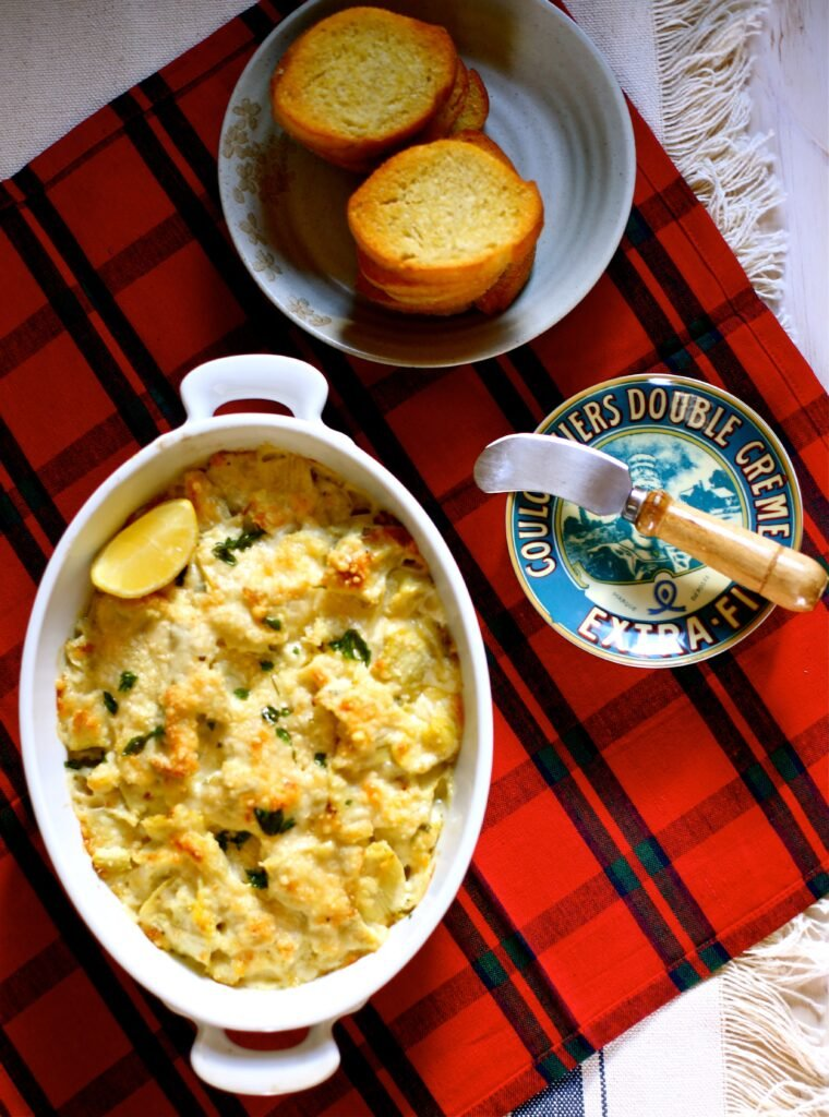Lemony Hot Artichoke Dip