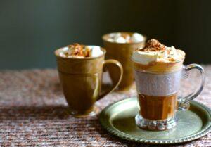 three Hot Chocolates