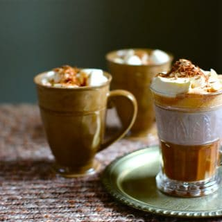 three Hot Chocolates