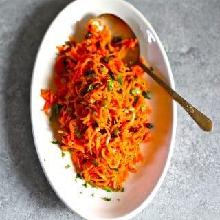 Modern Carrot Salad