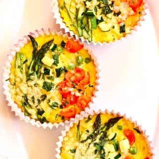 SPRING VEGETABLE FRITATTAS