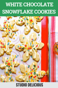 christmas cookies on a platter