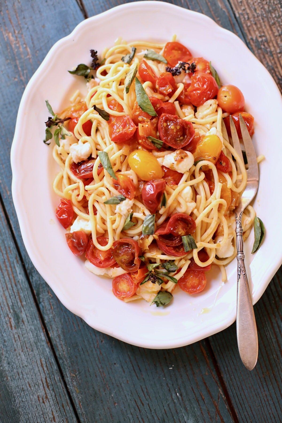 Summer Pasta Recipe - Studio Delicious
